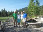 Martha and Keith at Tamarack Idaho