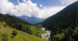 Pahalgam start of trek