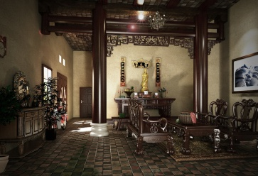 vietnamese livingroom